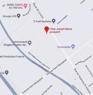 Cliquez sur le plan pour voir dans Google Maps